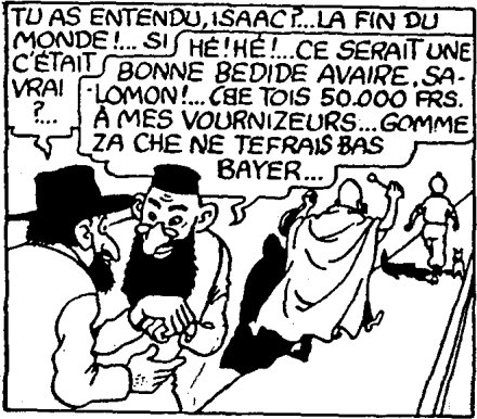 Jews in Tintin