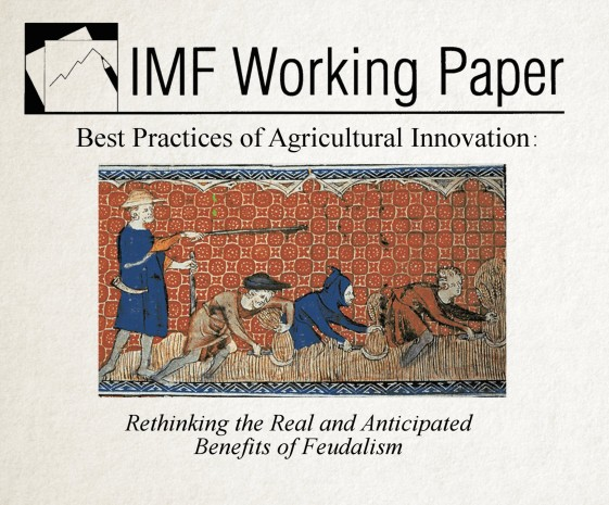 IMF Whitepaper on Feudalism