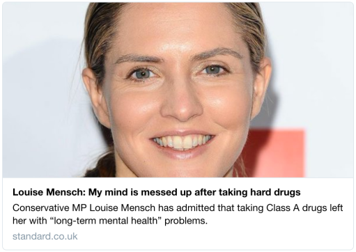 Louise Mensch My mind is messed up