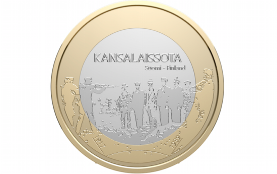 Finnish jubilee coin
