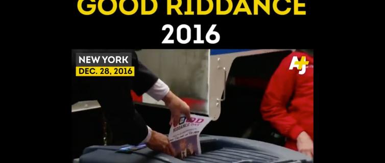 Al Jazeera, Good Riddance 2016